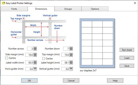 Easy Label Printer screenshot